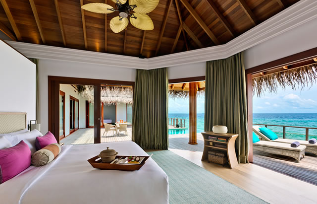 обстановка на вилле Dusit Thani Maldives