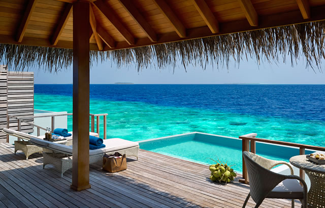 Dusit Thani Ocean Villa with Pool – Bigger than most in Dharavandhoo