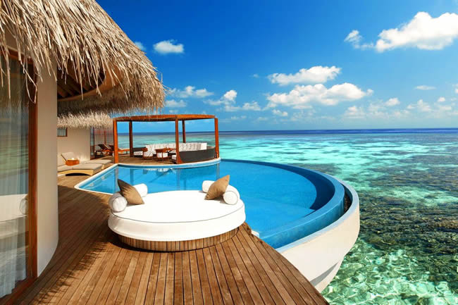 w maldives honeymoon trip