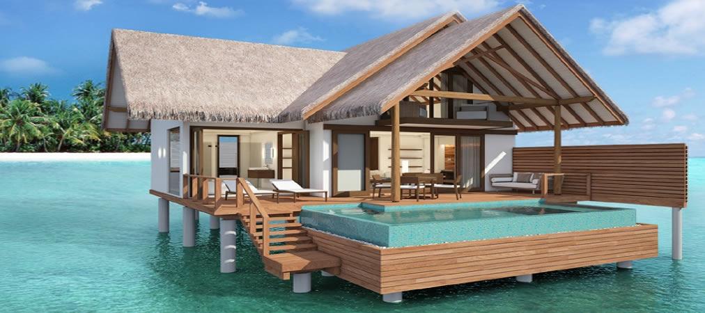 Heritance Aarah - water villa