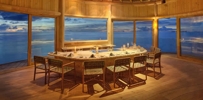 Michelin Star Dining in Maldives