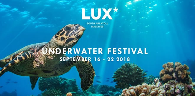 LUX* South Ari Atoll to Host Underwater Festival in September