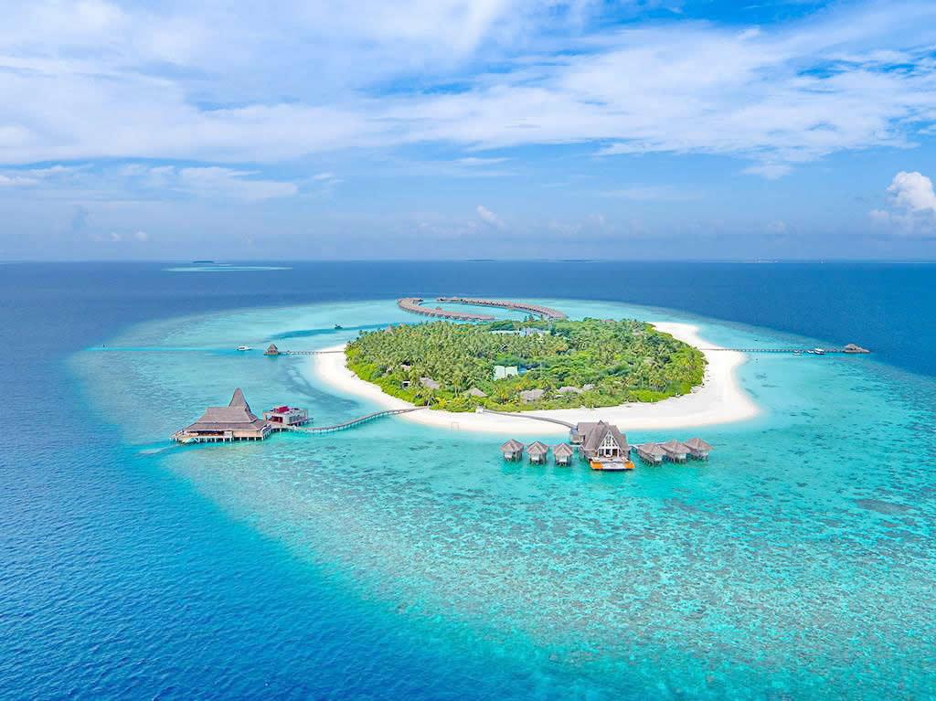 анатара кихава остров на мальдивах для медового месяца