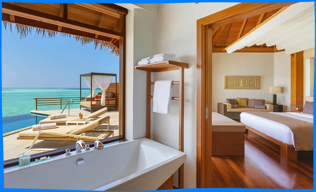 A Villa Host is on call around the clock providing a discreet, personalised service making every stay hassle-free. The resort has both an EcoDive and a Marine Centre.