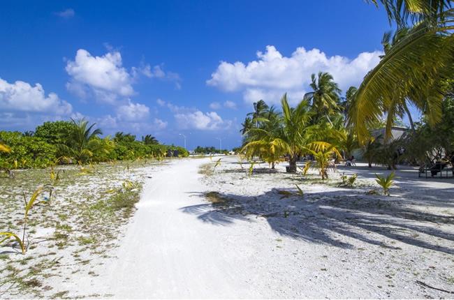 Bodufolhudhoo is an Ecological Island