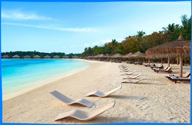dhonveli's beach