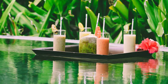 COCO PALM DHUNI KOLHU INTRODUCES EDIBLE SPA JUICE BAR