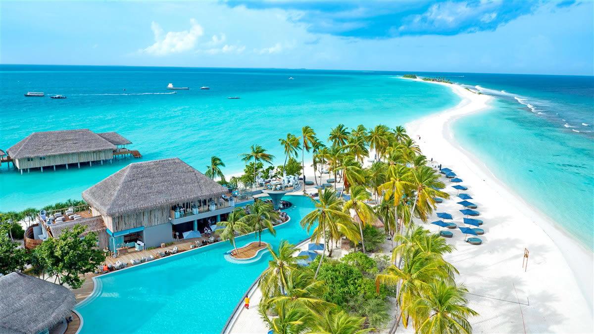 Seaside Finolhu Resort Maldives sand bank