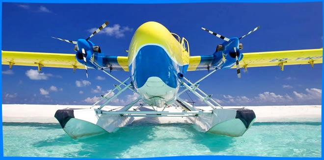 Seaplane tours maldives