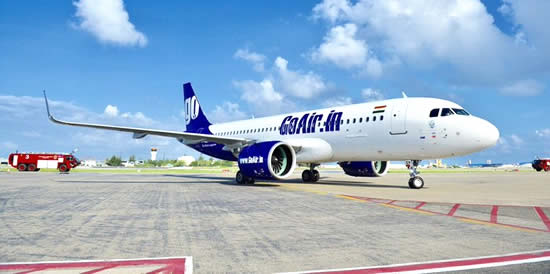 GOAIR BEGINS MALDIVES FLIGHTS WITH VOYAGES MALDIVES AS GENERAL SALES AGENT