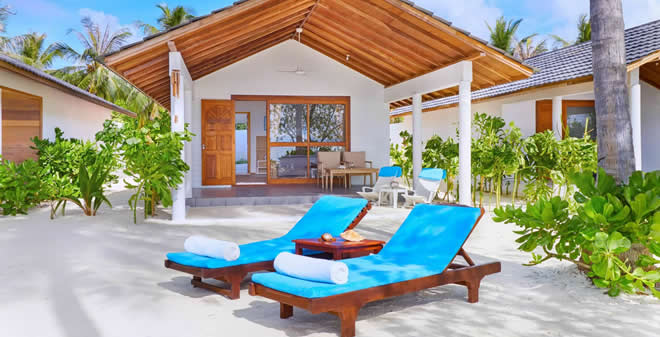 Innahura Maldives Resort  beach villa