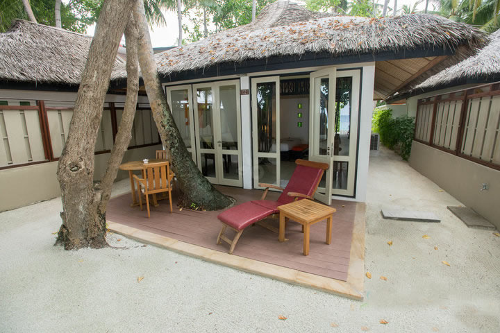 Angsana Ihuru, beach villa for couples