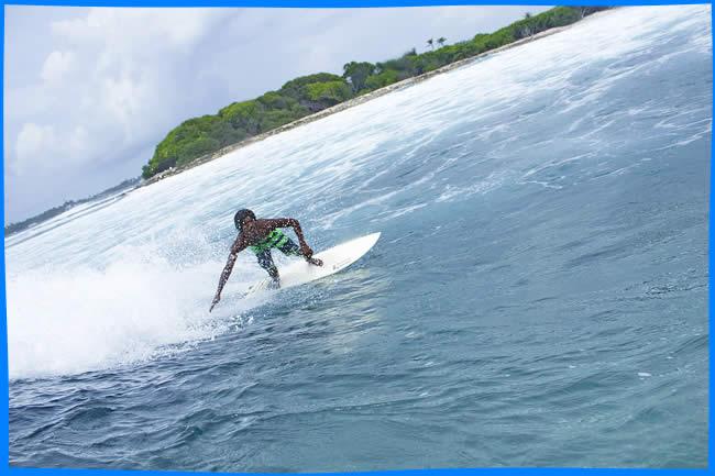 Jailbreak surfing maldives