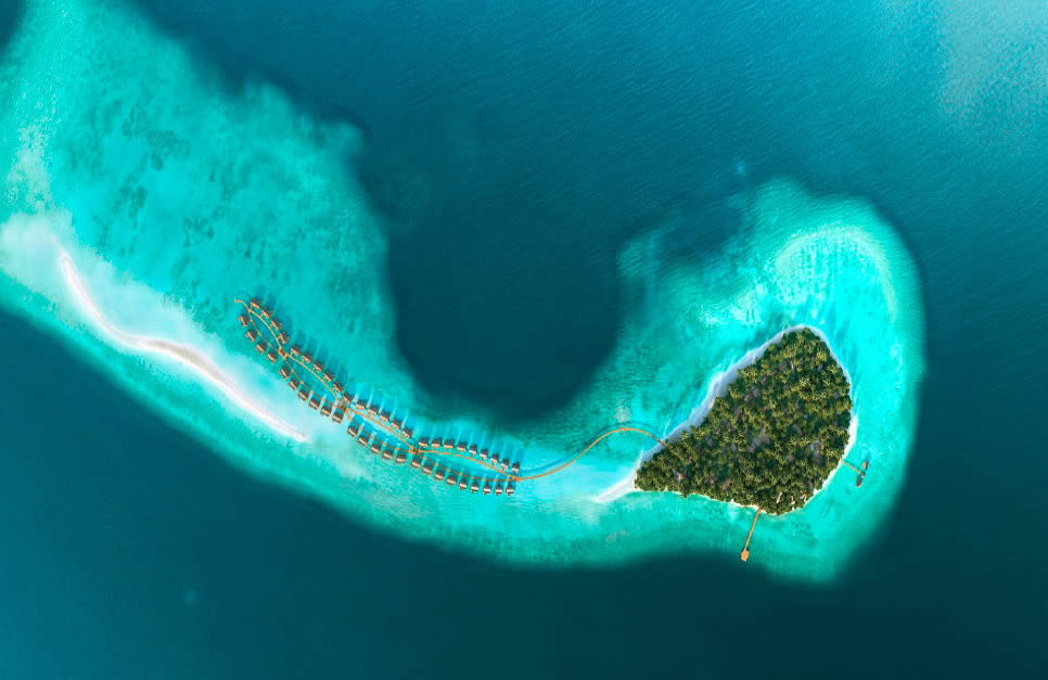 JOALI Maldives 5* star luxury resort