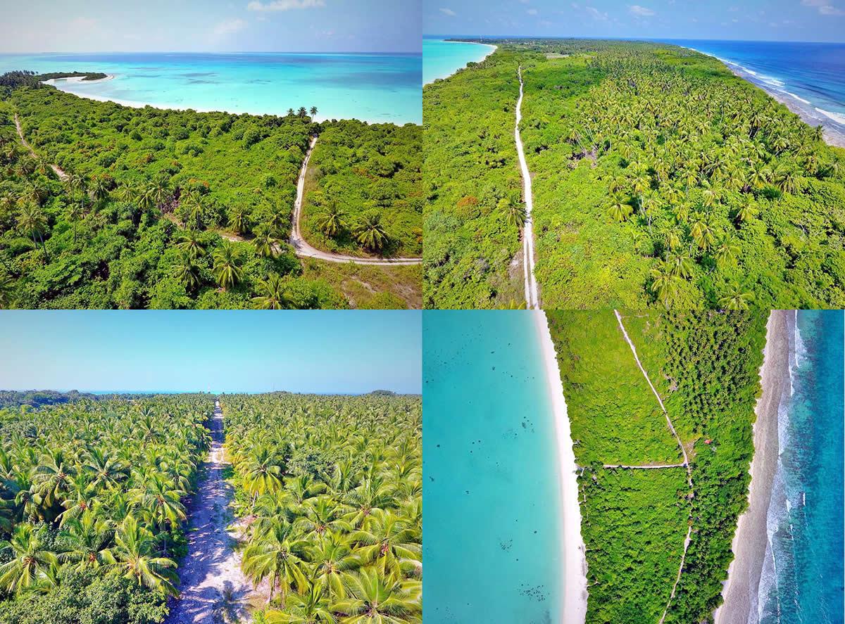 жизнь на острове в мальдивах