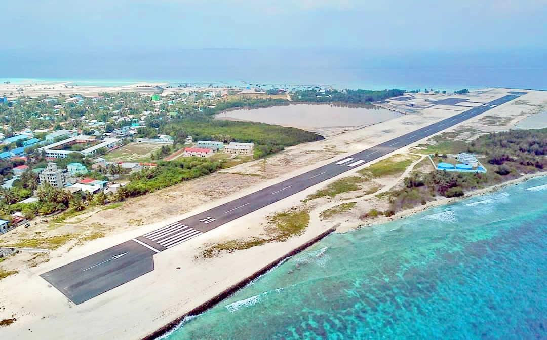 Kulhudhuffushi airport, maldives