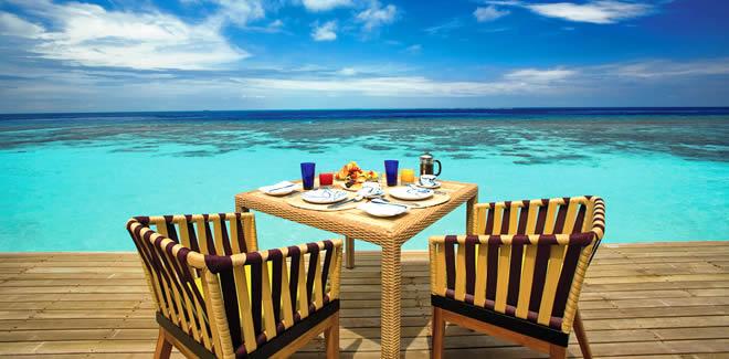 Рестораны Conrad Maldives