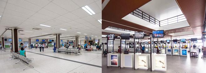 Malé airport facilities
