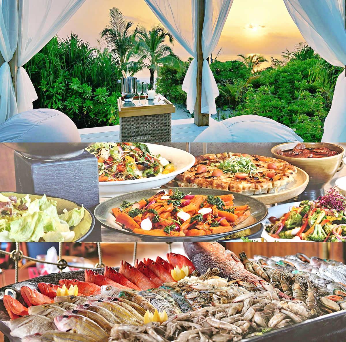 Mӧvenpick Resort Kuredhivaru Maldives restaurants and fine dining options