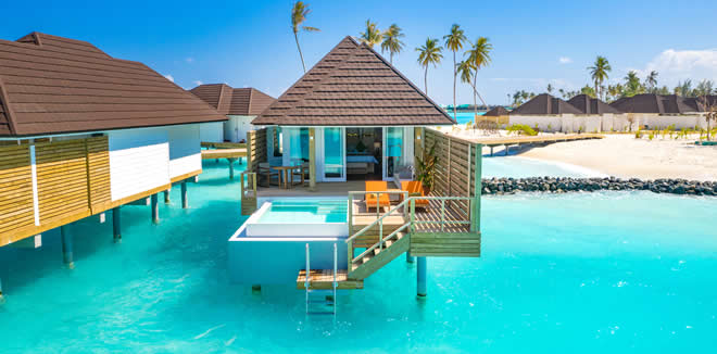 OLHUVELI BEACH & SPA MALDIVES UNVEILS NEW GRAND WATER VILLA, GRAND WATER VILLA WITH POOL
