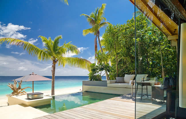 Resort facilities of Park Hyatt Maldives Hadahaa