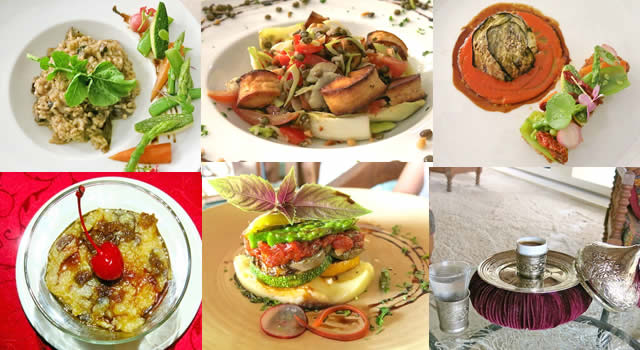 Ayada Maldives vegetarian food