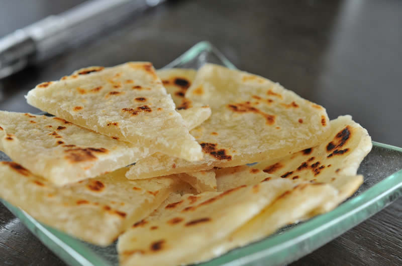 Хуни Роши (хлеб чапати)
