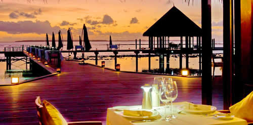 Hideaway Beach's Samsara Named Best Luxury Waterside Restaurant in Indian Ocean