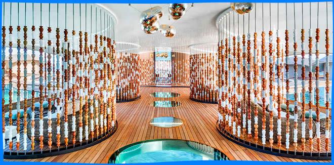 Iridium Spa at The St. Regis Maldives Vommuli Resort, maldives magazine, spa, yoga, wellness, luxury spa resort, hotel, health