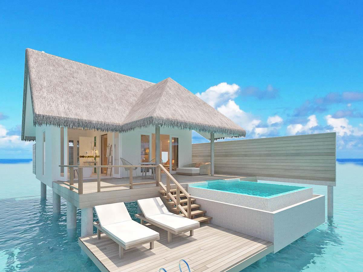 Sun Aqua Iru Veli water pool villa