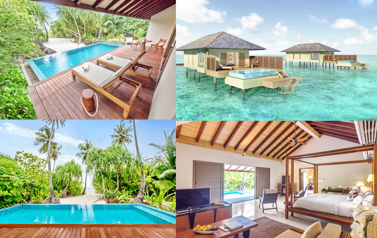 The Residence Maldives at Dhigurah is overview