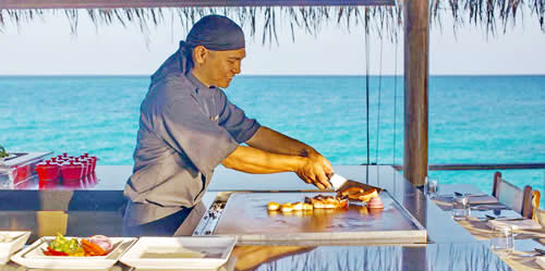 VELASSARU MALDIVES REVAMPS TURQUOISE ALL-DAY DINING RESTAURANT