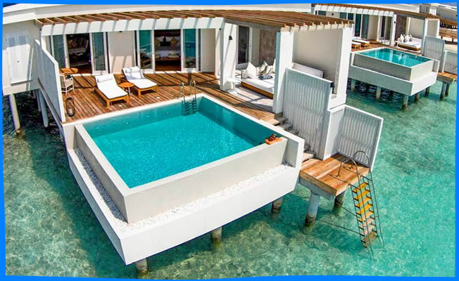 ocean reef villa with private pool