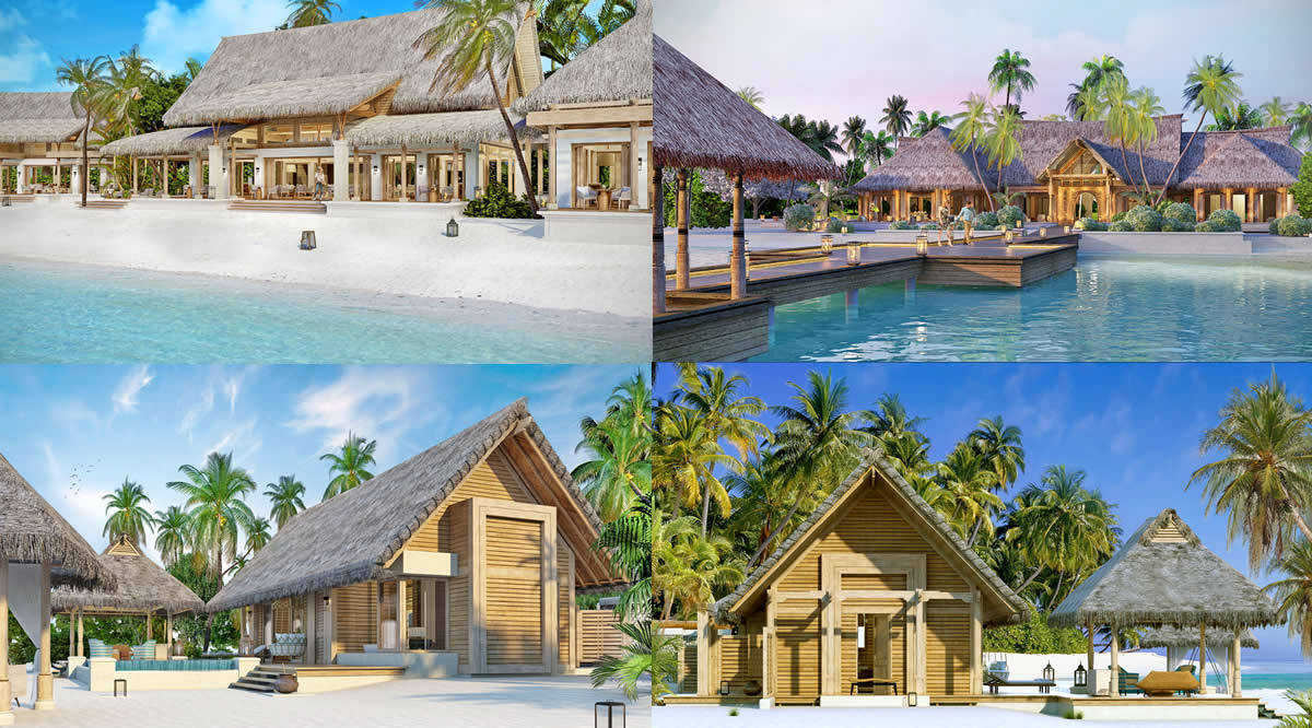 Waldorf Astoria Maldives Ithaafushi's beach villas