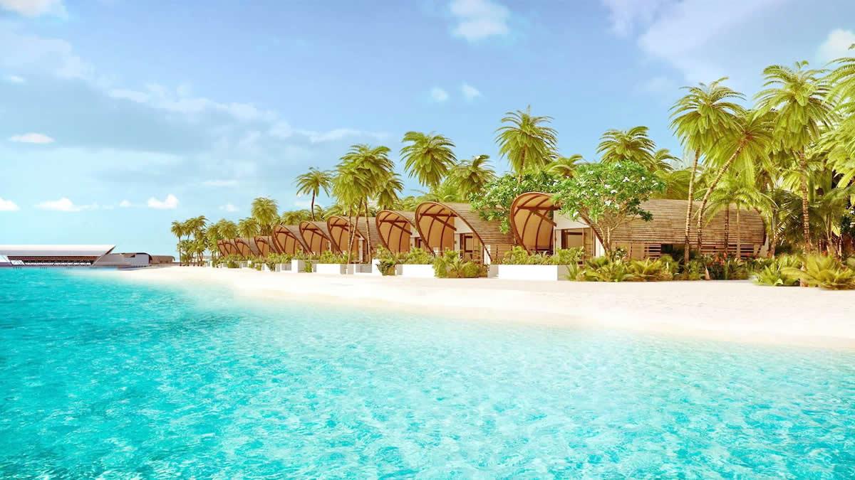The Westin Maldives Miriandhoo Resort - beach pool villas