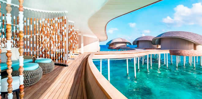 Iridium Spa at The St. Regis Maldives Vommuli Resort, maldives magazine, spa, yoga, wellness, luxury spa resort, hotel, health