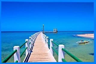 мост к маяку в парке кота остров бантаян