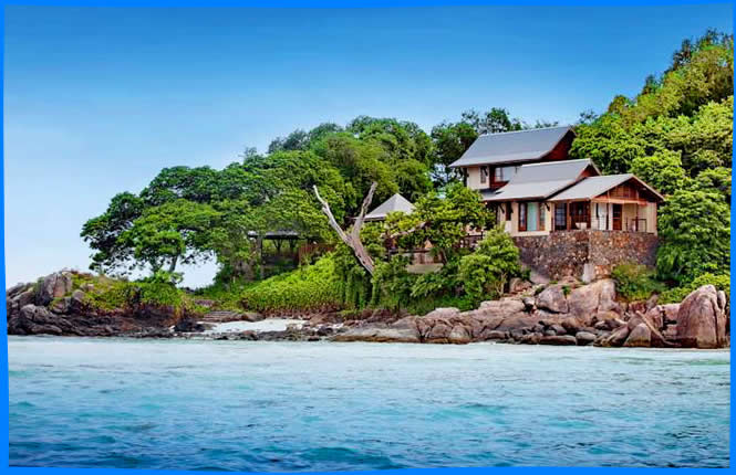 Откройте Enchanted Island Resort Seychelles
