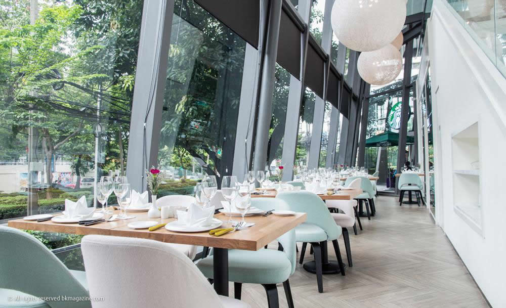 Glasshouse в Sindhorn Bangkok - Коллекция Ресторанов на Wireless Road