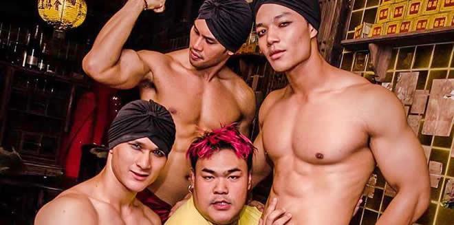 Тайский гей массаж