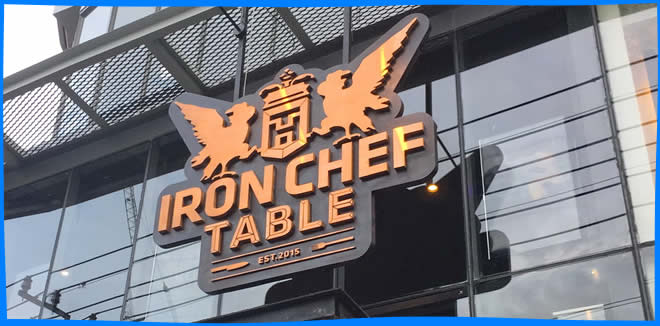 Iron Chef Table