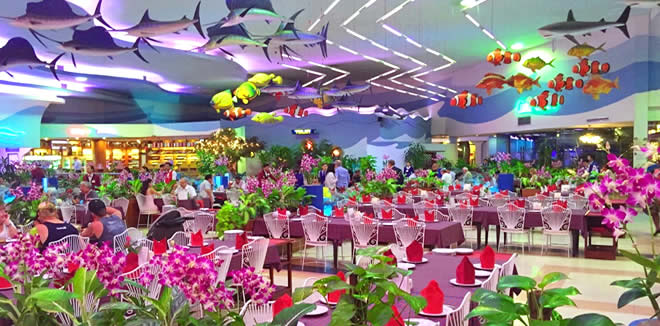 The Seafood Market and Restaurant Bangkok - Знаменитый
