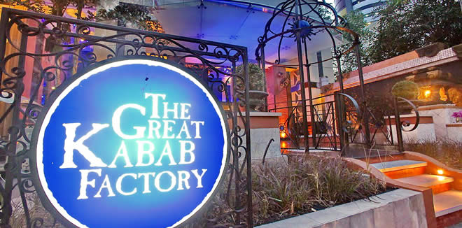The Great Kabab Factory  Bangkok